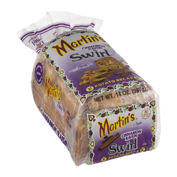 Martin's Potato Bread Cinnamon Raisin Swirl