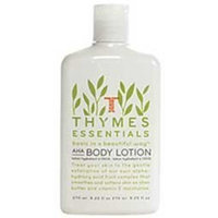 Thymes AHA Body Lotion, Essentials, 9.25-Ounce Bottle