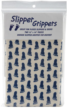 Lyle 100013 Slipper Grippers 12 in. x 14 in. 2PkgNavy
