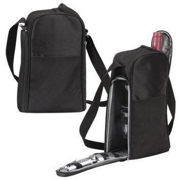 Bellino Wine-To-Go Tote Black - Bellino Travel Coolers