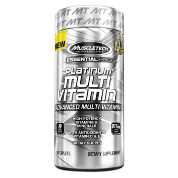 Muscletech Essential Series Platinum Multi Vitamin, Caplets