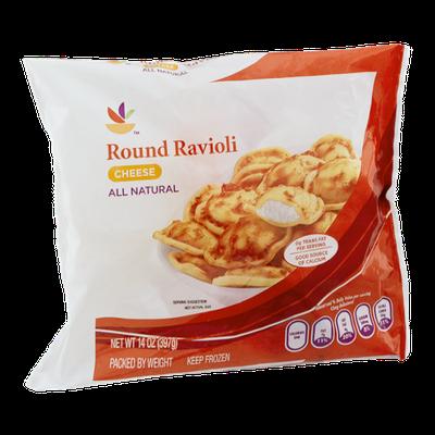 Ahold Round Ravioli Cheese
