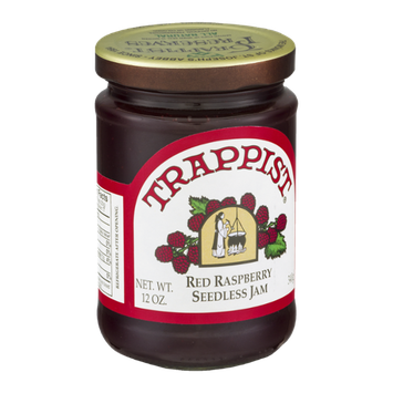Trappist Seedless Jam Red Raspberry