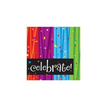 Creative Converting 655683 Milestone Celebrations 3-Ply Beverage Napkins - Case of 192