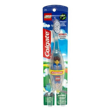 Colgate® LEGO® Toothbrush with Jack Stone Figure Extra Soft