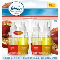 Febreze NOTICEables Apple Spice/Delight Air Freshener Refill (2 Count