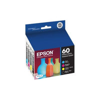 Epson 60 Standard-Capacity Cyan/Magenta/Yellow/Black Color Ink