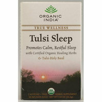 Organic India Tulsi True Wellness Sleep Tea 18 Tea Bags Case of 6