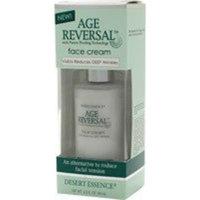 Desert Essence Age Reversal Face Cream, 2-Ounce, 0.25 Bottle