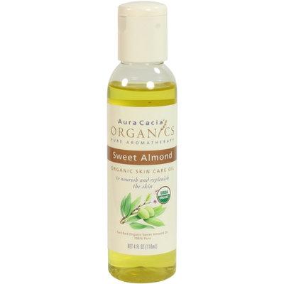 Aura Cacia Certified Organic Sweet Almond Skin Care Oil