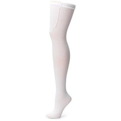Ace Gold Anti-Embolism Stocking, Thigh High, Medium, White, 1-Pair Package