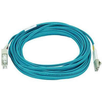 Monoprice 10Gb Fiber Optic Cable, LC/SC, Multi Mode, Duplex - 10 Meter (50/125 Type) - Aqua