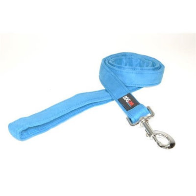 Dogline Comfort Microfiber Soft Padded Pet Puppy Dog Leash Nylon Reinforecement (4 sizes and 8 colos available)