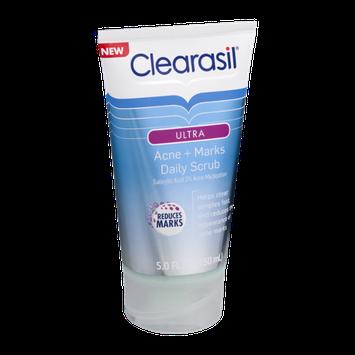 Clearasil Ultra Acne + Marks Daily Scrub