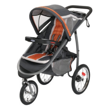 Graco FastAction Fold Click Connect Jogger - Tangerine