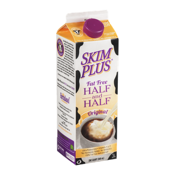 Skim Plus Fat Free Half And Half Cream Original