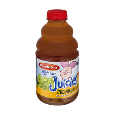 Beech Nut 100% White Grape Peach Juicies Juice