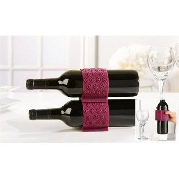 Giftcraft GIFT468156 Silcone Comfort Grip Wine Bottle Holder