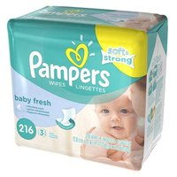 Pampers Soft & Strong Scented Wipes