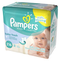 Pampers Soft & Strong Scented Wipes Refills