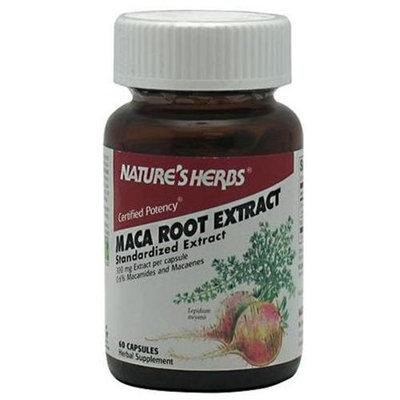 Nature's Herbs Maca Power POWER 60 CAP by Natures Herbs (for Men and Women)
