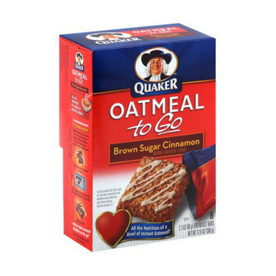 Quaker® Oatmeal To Go Brown Sugar Cinnamon Bars