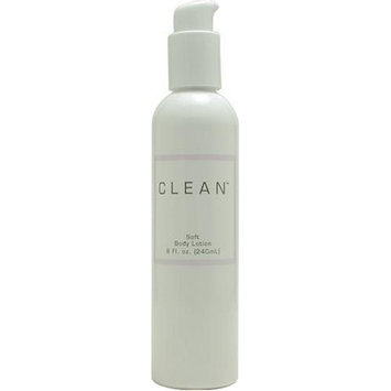 Clean Ultimate By Dlish For Women. Soft Body Lotion 8.1 Ounces