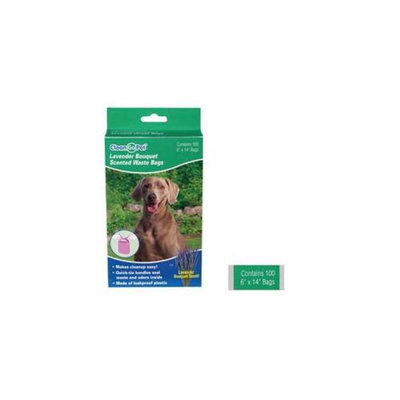 Clean Go Pet ZW034 25 Lavender Scent Waste Bags 250 Count