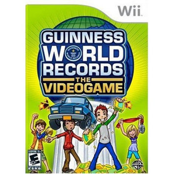 Warner Brothers Wii - Guinness World Records: The Videogame - By Warner Bros