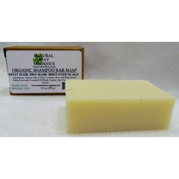 Natural Way Organics Organic Shampoo Bar Soap