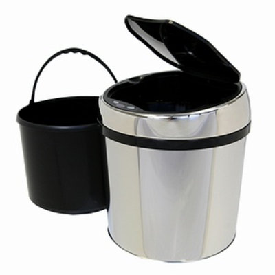 iTouchless 1.5 Gallon Touchless Trash Can TX Model