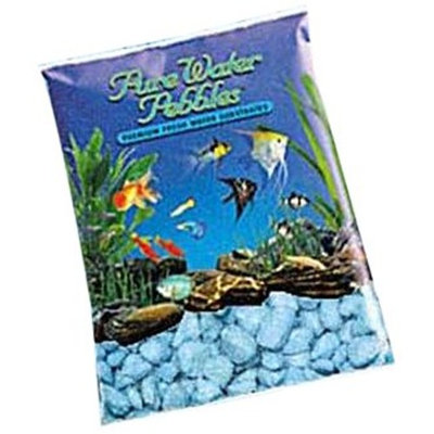 Worldwide Imports AWW70065 Color Gravel, 5-Pound, Heavenly Blue