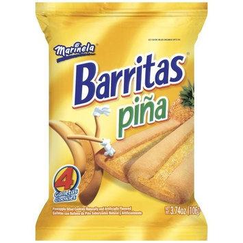Bimbo Marinela Pineapple Filled Fruit Bars, 4.5 oz