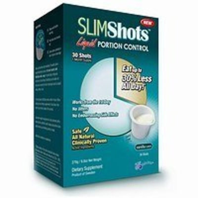 Slim Shots Liquid Portion Control, Shots, Chocolate 14 ea