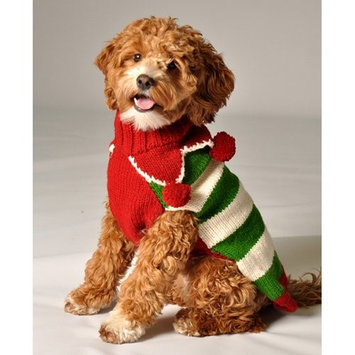 Chilly Dog Christmas Elf Dog Sweater Size: X-Small