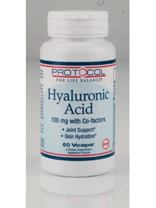 Protocol For Life Now Foods Protocol Hyaluronic Acid 100mg with Co factors 60vc
