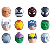 Power Brand Marvel Mashems Squishy Toys Mystery 6-pack Collect All 12