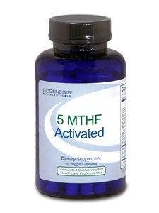 BioGenesis Nutraceuticals - 5 MTHF Activated - 30 Vegetarian Capsules