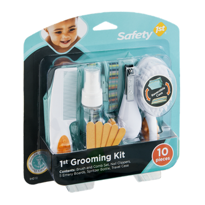 Safety 1st, 1st Grooming Kit - 10 Pieces