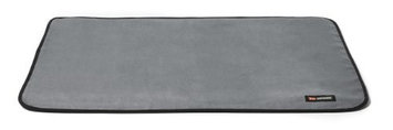 Big Shrimpy Landing Pad Faux Suede Crate Mat, Small, Clay
