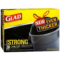Glad Drawstring Trash-Garbage Bags Extra Strong