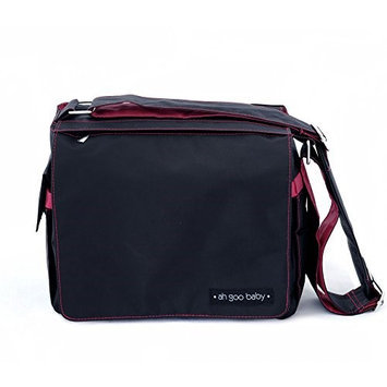 Ah Goo Baby Grab and Go Bag Color: Midnight Rose
