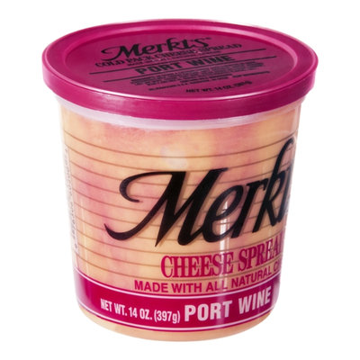 Merkts Port Wine Cheese Spread