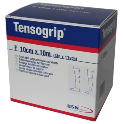 Woundcare 7583 Tensogrip Bandage Elastic Tubular 3.5 In. X 11 Yd. White Size E