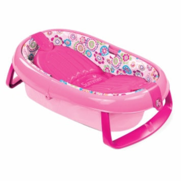 Summer Infant Fold Away Baby Bath, Girl, 1 ea