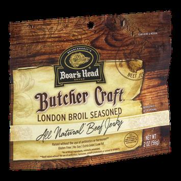 Boar's Head Butcher Craft London Broil Seasoned Beef Jerky