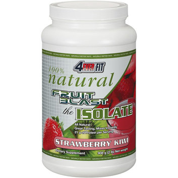 4Ever Fit Fruit Blast The Isolate Strawberry Kiwi Dietary Supplement
