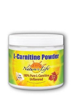 Acetly L-Carnitine Powder 1,500 mg/Natural Nature's Life 236 g Powder