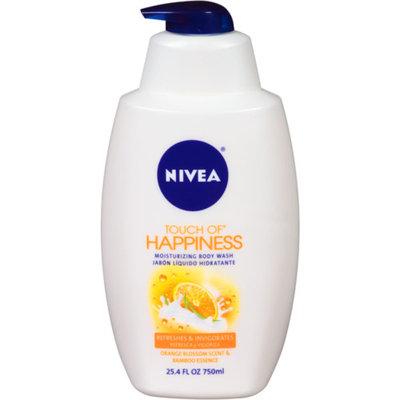 NIVEA Touch of Happiness Moisturizing Body Wash