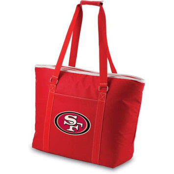 San Francisco 49ers Red Tahoe Cooler Tote Picnic Time